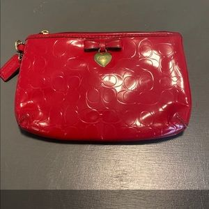 Coach mini pouch